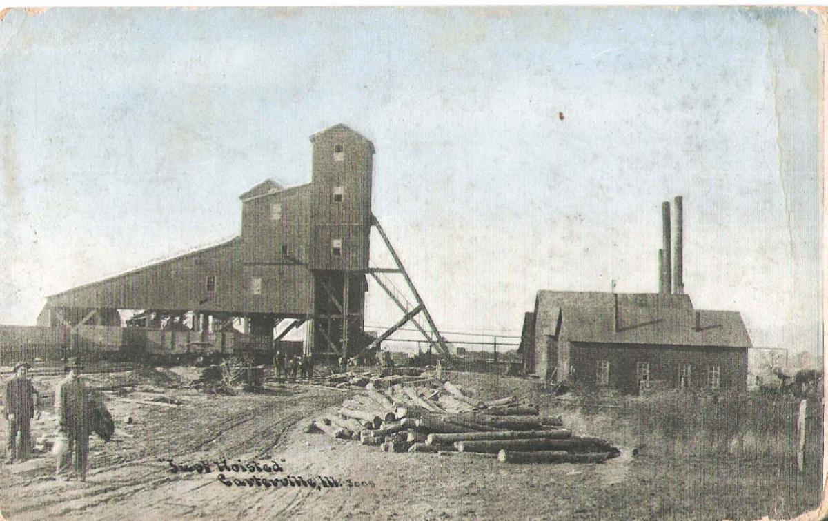 Burr Mine, Carterville